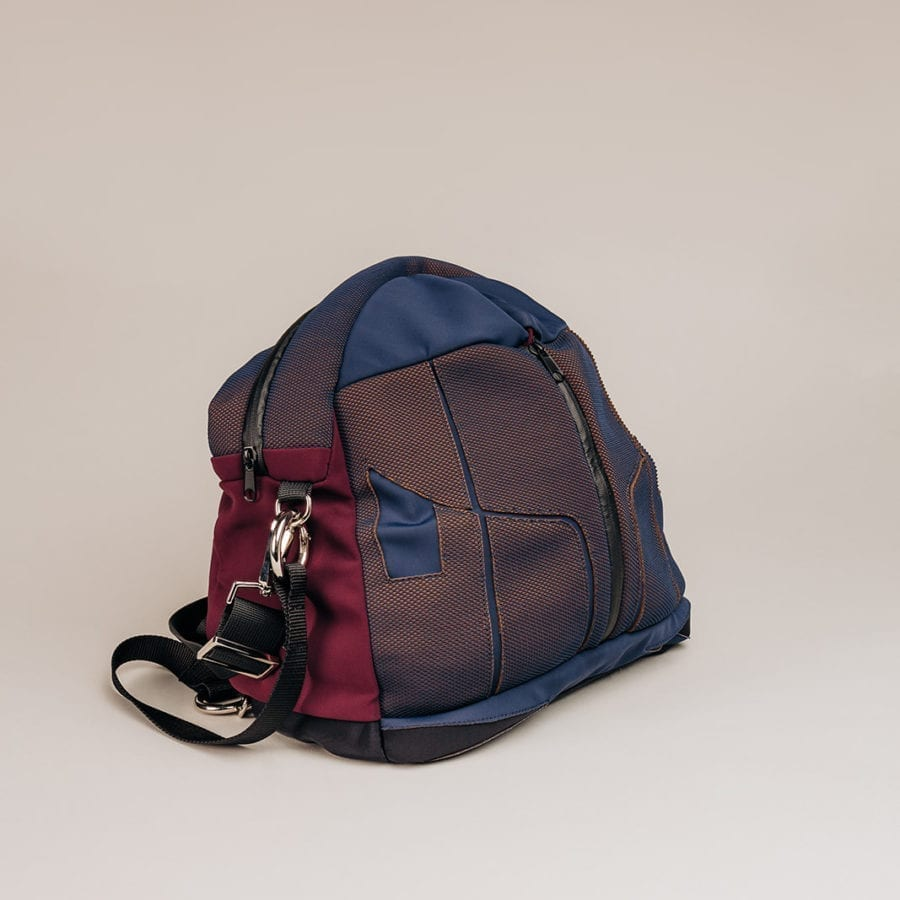 Honey Bag Bee&Smart Mayfair - Blue and purple Neoprene foldable bag