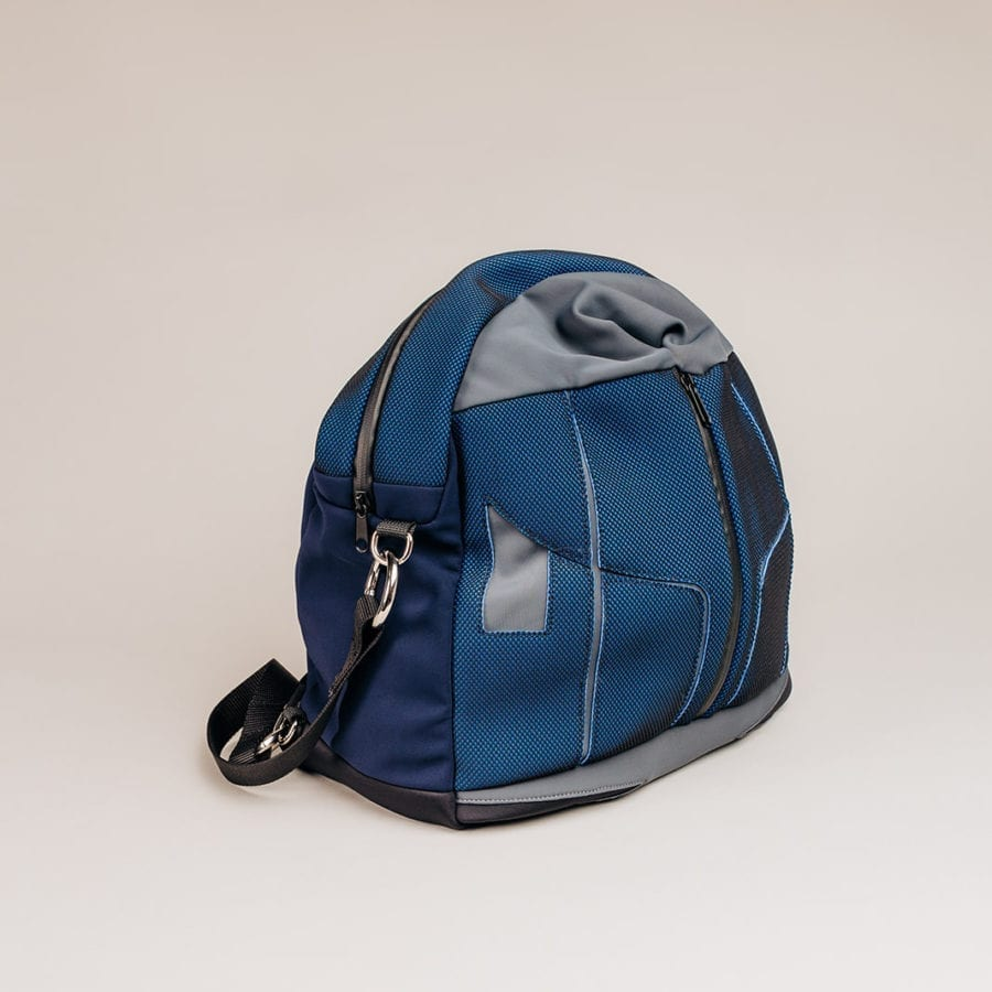 Honey Bag Bee&Smart Crossbody Piccadilly - Blue Neoprene foldable bag